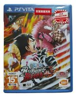 One Piece Burning Blood Sony PlayStation Vita PSV 2016 Chinese Japanese Sealed