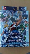 Knights of The Zodiac Bandai Starter Pack Set Cards Power of The Constellations