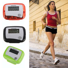 New Digital LCD Pedometer Step Run Walking Distance Calorie Counter Belt Clip