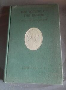 The Taming of the Shrew vintage camed classics hardcover book