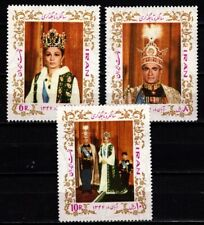 1968 1Iran 1400-1402 Kroning Sjah royalty cat waarde € 25