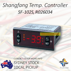 SF-102S; SHANGFANG Digital Temperature Controller; -45C-45C Automatic Defrost
