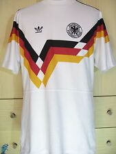 GERMANY WORLD CUP 1990 HOME VINTAGE RETRO FOOTBALL TRIKOT SOCCER JERSEY SHIRT L