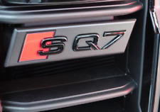 Genuine Audi SQ7 Front Black Gloss Badge