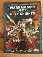 GW Warhammer 40k Codex Army Book: Grey Knights 2010 5th/6th edition (Soft Cover)