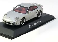 1:43 Minichamps Porsche 911 (997II) Turbo S 2011 silver