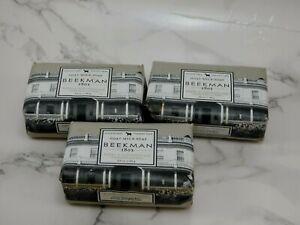 3x New Beekman 1802 Honey & Oats Scrub Bar Goat Milk Soap 3.5 oz PLEASE READ