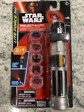 Star Wars Lite Force Project-A-Lite 2 in 1 Flashlight Toy Disney