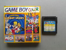 JUEGO GAME BOY COLOR GBC 32 IN 1 CON CAJA SPACE INVADERS KLAX Y MAS PAL LEER