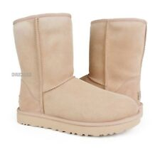 UGG Classic Short II Amberlight Suede Fur Boots Womens Size 10 *NIB*