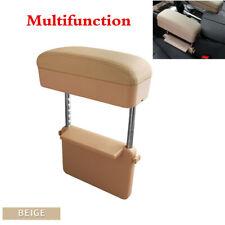 Universal Car Seat Gap Storage Armrest Box Organizer Elbow Support Adjustable