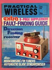 PRACTICAL WIRELESS Magazine - April 1976 - Direction Finding Receiver