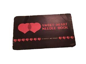 VINTAGE SWEET-HEART NEEDLE BOOK