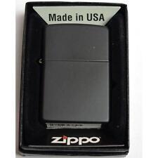 ACCENDIN LIGHETER BENZINA ZIPPO 218  REGULAR BLACK MATTE MADE USA