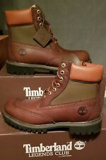 NEW MEN'S TIMBERLAND® LEGENDS CLUB 6-INCH WATERPROOF BROGUE BOOTS US 7.5 ---11