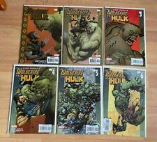 Ultimate Wolverine Vs Hulk 1-6 (6 Books) - High Grade Comic Book  - B53-49