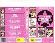No Man of Her Own/Fiesta/My Man Godfrey- 5 Movie 5 Star Romance Vol 2-DVD
