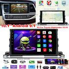 "10.1"" Android 9.1 Car Stereo Radio GPS Navigation for Toyota 2015-19 Highlander"