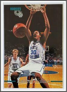 Rasheed Wallace Classic Rookies 1996 NBA Trading Card #4 North Carolina