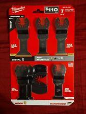 Milwaukee Multi Tool Blade Kit (7 piece)