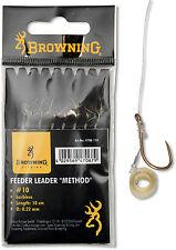 Browning Pellet-Band Haken Vorfach Vorfachhaken Feeder Mustad Method Hook
