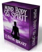 MIND BODY & SPIRIT 250 Books on DVD + Relaxation MP3! Healing, Spiritual Books