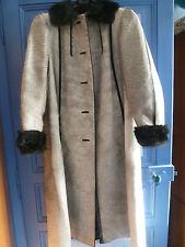 exceptionnel manteau fourrure poulain 42/44 chic et élégant un peu vintage