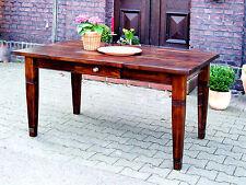 Esstisch Massivholztisch Landhaustisch Esszimmer Küche 200 cm M01 antik Neu