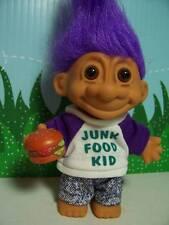 """JUNK FOOD KID  - 5"""" Russ Troll Doll - NEW - Purple Hair"""