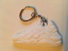 Nike Air Huarache Schlüsselanhänger Sneaker Keychain Weiß White