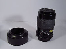 SIGMA 052 ZOOM-K CAMERA LENS W/HOOD -CAPS- CASE- 70-210mm F 4-5.6 - FOR CANON