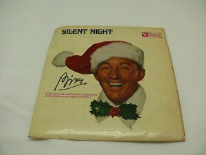 Bing Crosby Silent Night 45 EP Festival Records Monaural DX-10,216