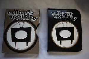 Digital Juice Editors Toolkit 7 Wedding Tools 8 DVD Disc Boxset