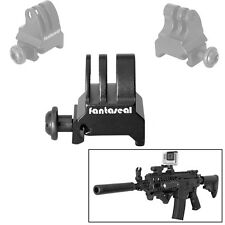 Fantaseal Picatinny Gun Rail Mount Airsoft Gun Adapter for GoPro SJCAM Garmin...