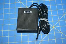 """KORG KEYBOARD FOOT SWITCH PEDAL 1/4"""" 93 BY FATAR"""