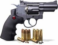 Crosman SNR357 - CO2 .177 Cal BB & Pellet - Airgun Pistol Revolver - 495 fps