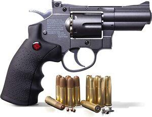 Crosman SNR357 - CO2 .177 Cal BB & Pellet - Airgun Pistol Revolver - 495 fps