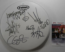 SIGNED MAYHEM AUTOGRAPHED EVANS DRUMHEAD CERTIFIED AUTHENTIC JSA # DD47410