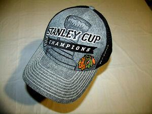Chicago Blackhawks 2013 Stanley Cup Champions Reebok Locker Room Hat Snapback