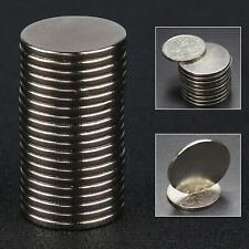 20pcs N52 Grade 2mm x 20mm Disc Rare Earth Neodymium Super Strong Magnets UK