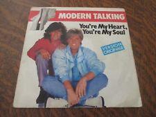 45 tours MODERN TALKING you're my heart, you're my soul