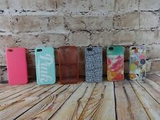 Lot of Phone Cases for i Phone 5 Model Style Pink Mara Mi Tech 21 6 Cases Pieces