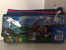 Disney Pen Pencil Bag/Storage Case/Pouch/Holder with Zipper Closure NWT