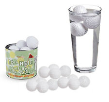 The Mixology: 19° Hole Golf Ball Drink Cooler : set 12 palle golf refrigeranti