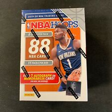 2019-20 Panini NBA Hoops Blaster Basketball Box FACTORY SEALED ZION IN STOCK
