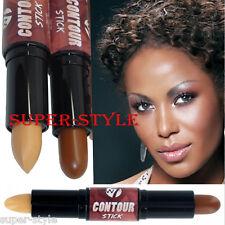 W7 Contour Stick Bronzer & Highlighter Face Contouring Medium-Deep for Tan Skin