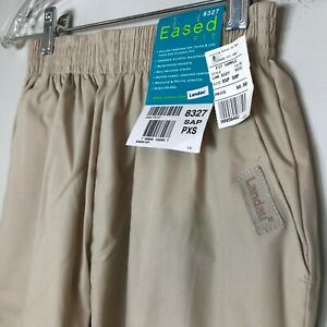 Scrubs Nurse Pants Classic Relaxed Covered Elastic Waistband Landau # 8327 SAP