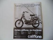 advertising Pubblicità 1983 ATALA RIZZATO CALIFFONE 50