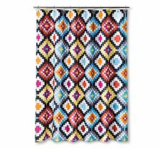 Sabrina Soto LUCY Fabric Shower Curtain 72x72 Multi Color new #4176