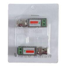 CCTV Camera Coax CAT5 BNC Video Passive Balun to UTP Connector Transceiver DVR